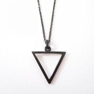 anhänger · open triangle black
